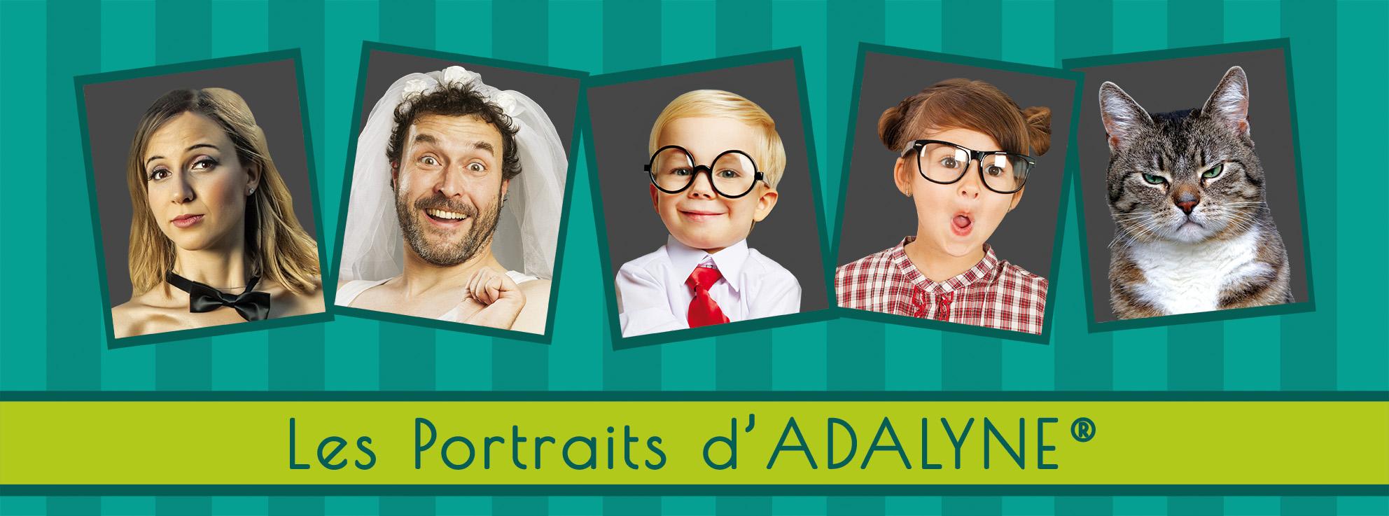 Les portraits d'Adalyne